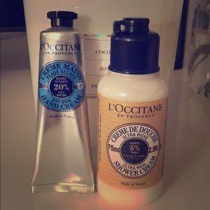 Loccitane Shea Shower Cream & Hand Cream